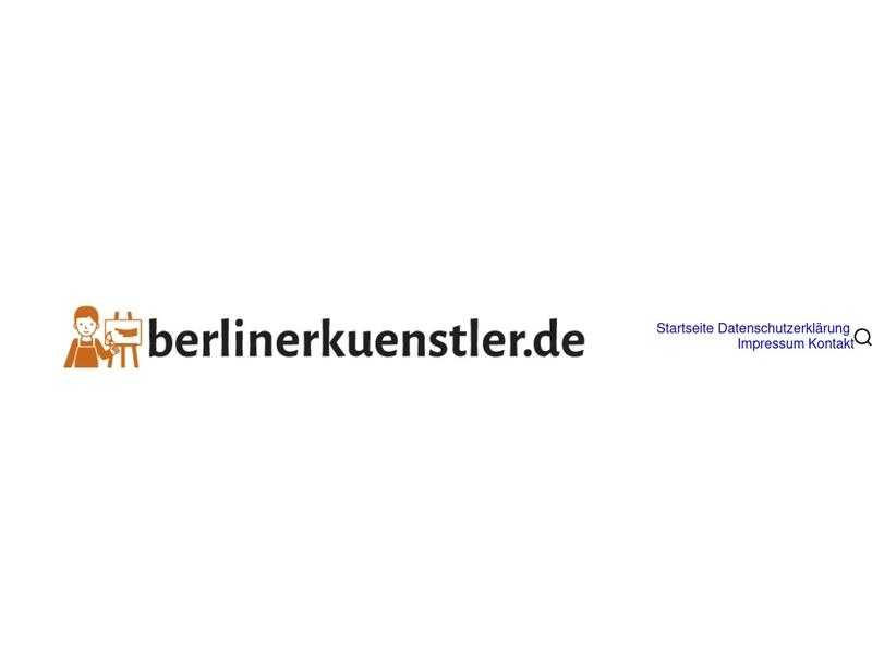 Screenshot von http://www.berlinerkuenstler.de/